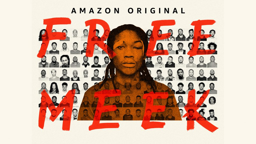 The promotional artwork for Amazon Prime Video's Free Meek series