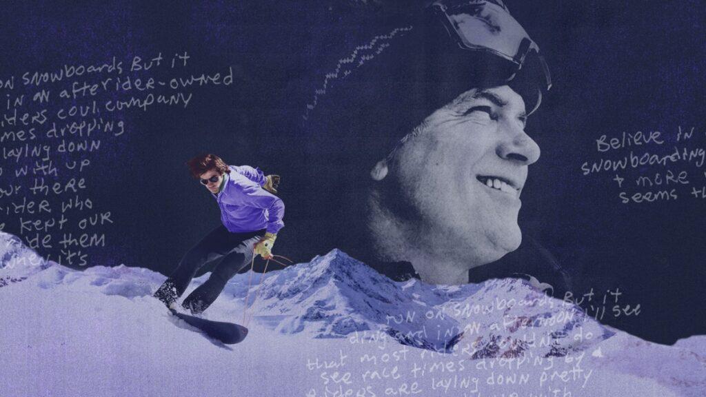 Jake Burton on HBO's Dear Rider film poster
